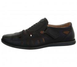 Pánske zatvorené sandále Q4705