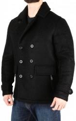 Pánsky elegantný vlnený kabátik Urban Surface T9869