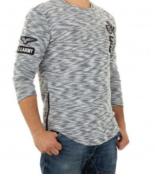 Pánsky módny pulóver Enos Jeans Q6283