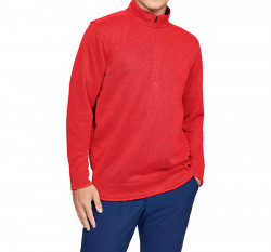 Pánsky pulóver Under Armour SweaterFleece 1/2 Zip E4020