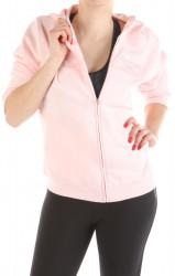Ružová mikina na zips Reebok W1765