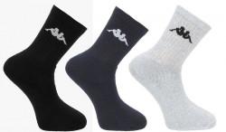 Unisex športové ponožky Kappa 3 ks X1345
