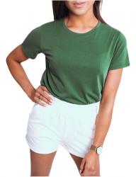 Zelené basic tričko Mayle Y3454