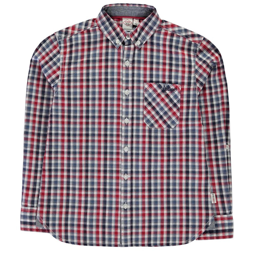 8d3d175fedaf Chlapčenská štýlová košeĺa Lee Cooper H7450 - Detské pulóvre a ...