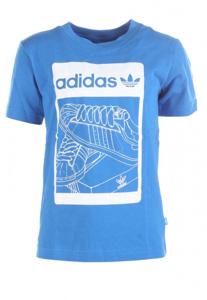 Chlapčenské bavlnené tričko Adidas Originals W2323