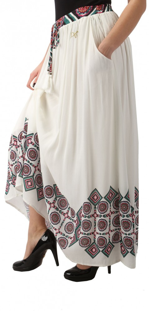 79c63557098d Dámska dlhá sukňa Desigual X7120 - Dlhé dámske sukne - Locca.sk