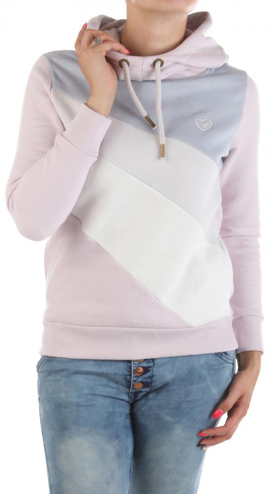 Dámska fashion mikina s kapucňou Eight2Nine W2237