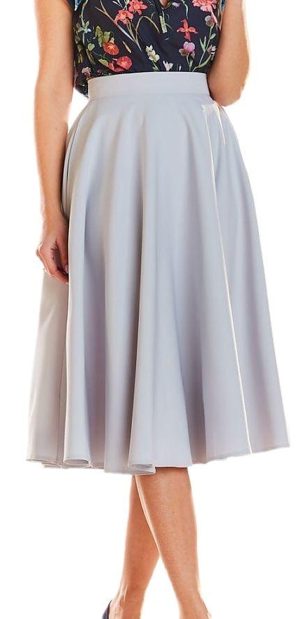 Dámska pohodlná sukňa N0887