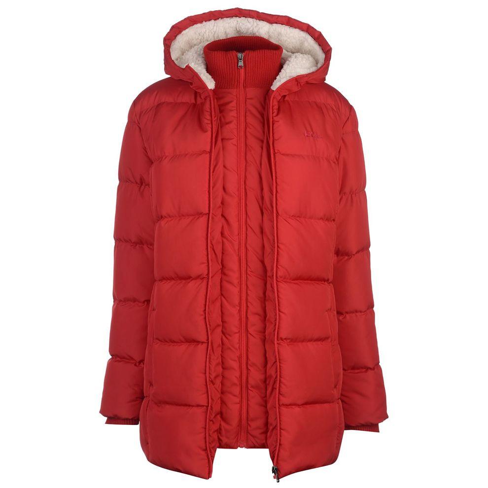 Dámska predĺžená zimná bunda Lee Cooper H7358 - Dámske bundy - Locca.sk a3c52c15ecd