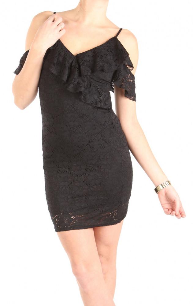 Dámske čierne šaty New Look W1379 - Mini šaty - Locca.sk cfd57928bfb