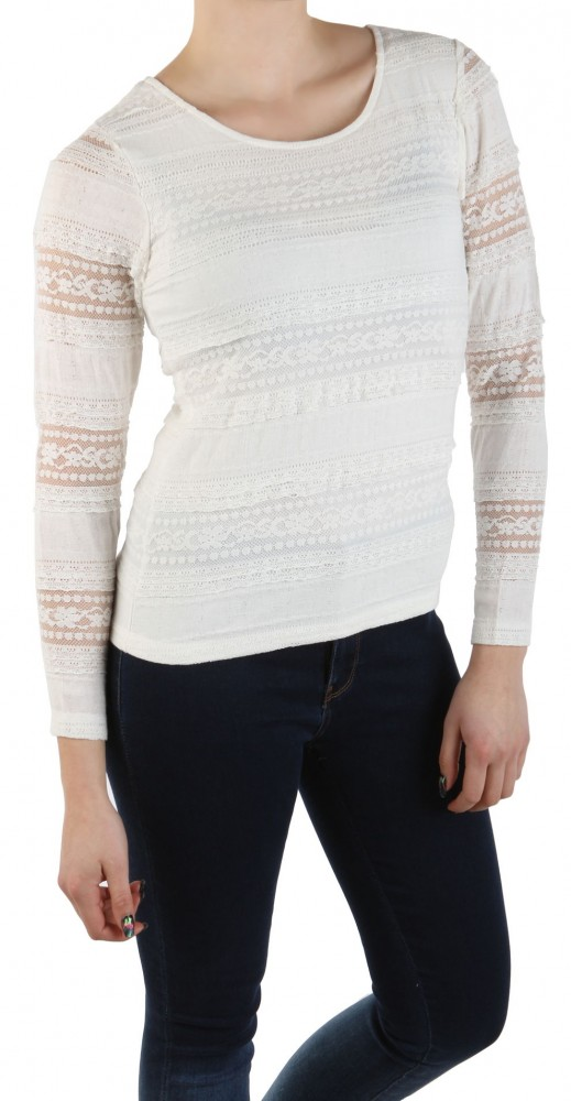 2ed58fb7d5f3 Dámske elegantné tričko s dlhým rukávom Lola a Liza X8464 - Dámske ...