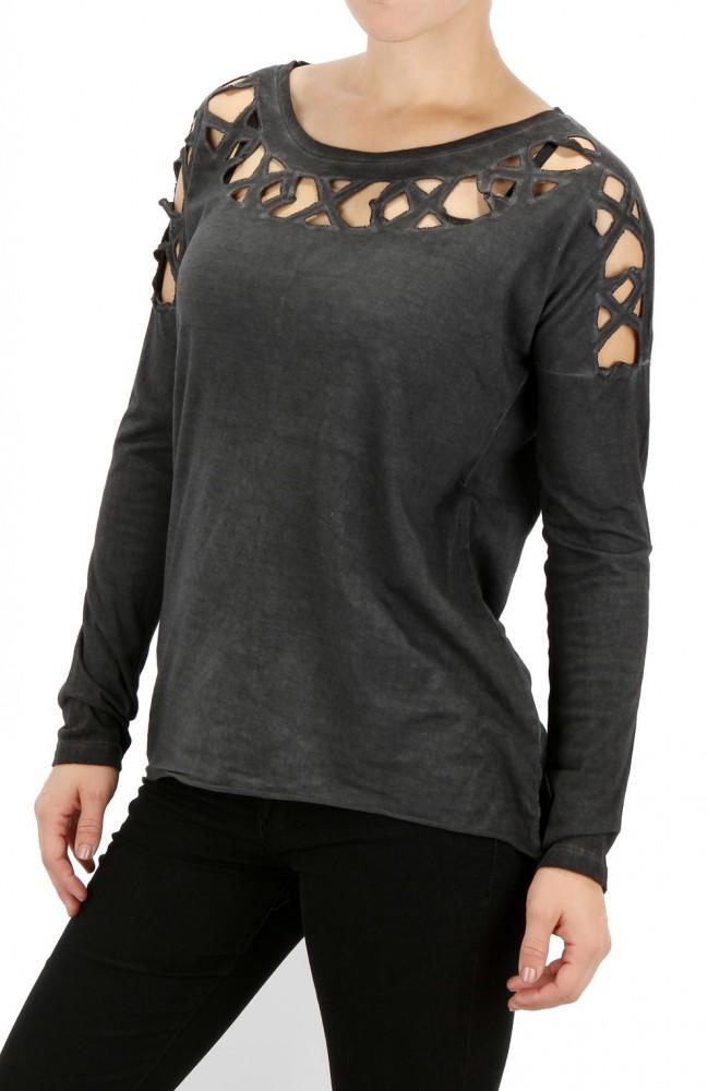 Dámske fashion tričko Eight2Nine X5523 - Dámske tričká - Locca.sk 8eb6b786317