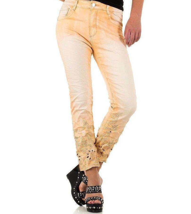 Dámske módne jeansy Mozzaar Q4453