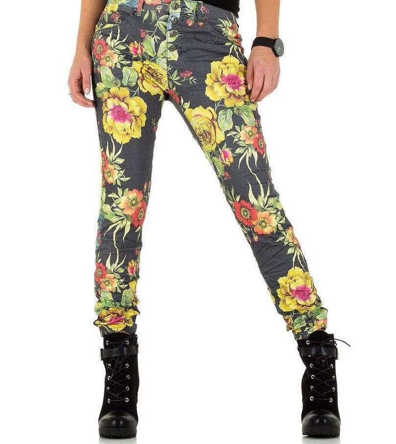 Dámske módne jeansy Q4452