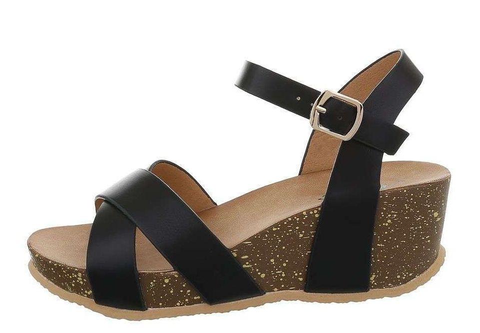 Dámske módne sandále Q5599