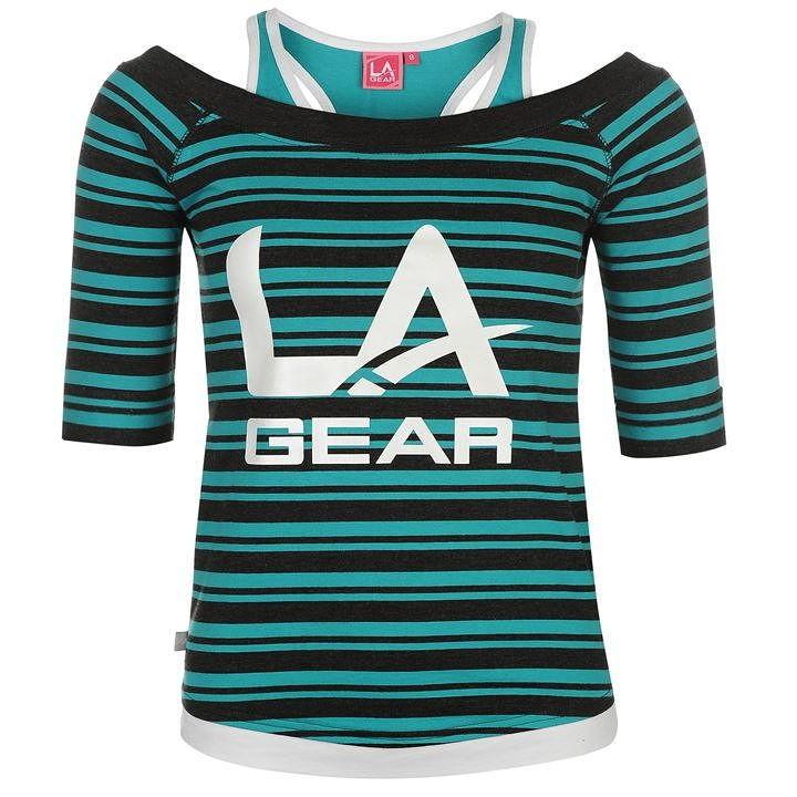 Dámske módne tričko LA Gear H1662 - Dámske tričká - Locca.sk edc194c5b2a