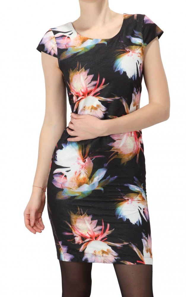 ce42e1c24b13 Dámske puzdrové šaty Smashed Lemon X6548 - Dámske korzetové šaty ...