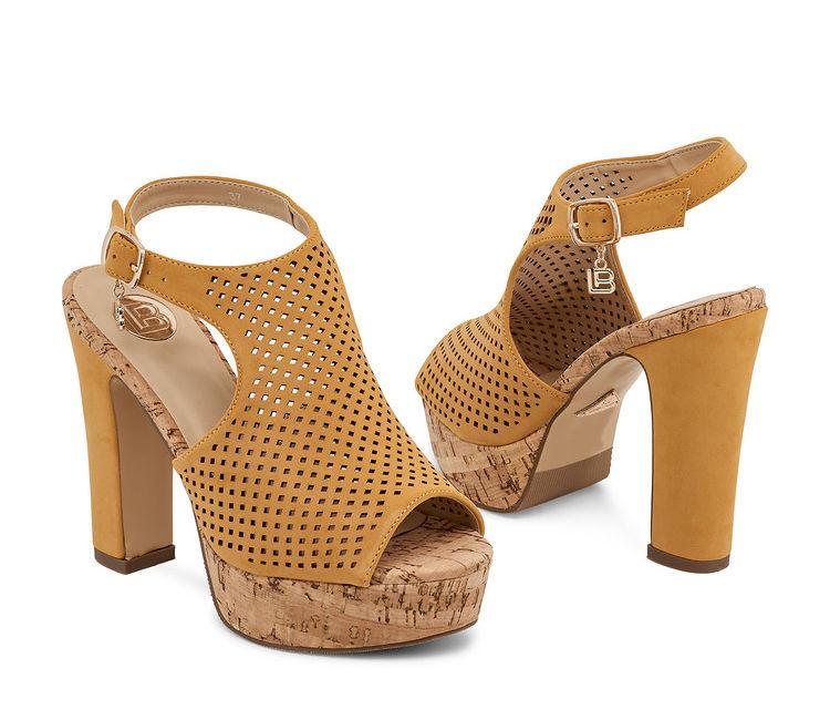 38c1071a6486 Dámske sandále Laura Biagiotti L3058 - Sandále na platforme - Locca.sk