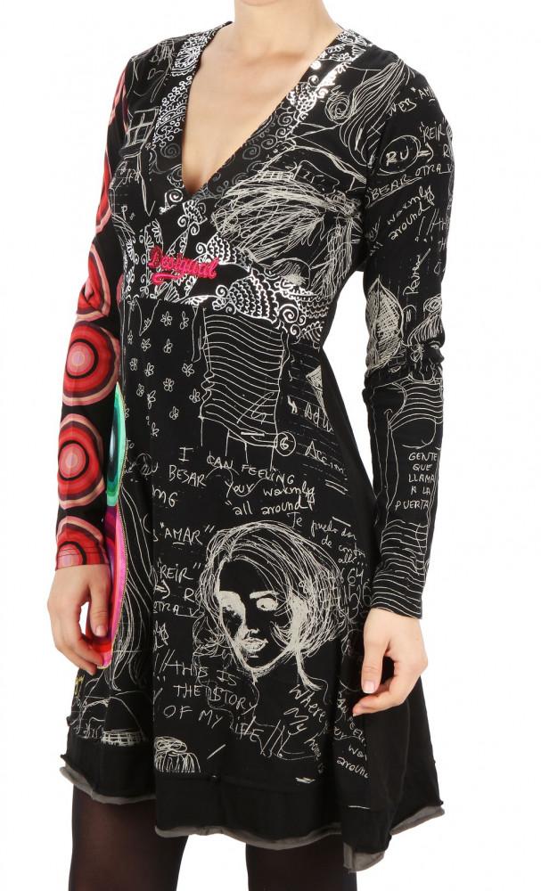 Dámske šaty Desigual X2094 - Dámske ležérne šaty - Locca.sk c447bfed968