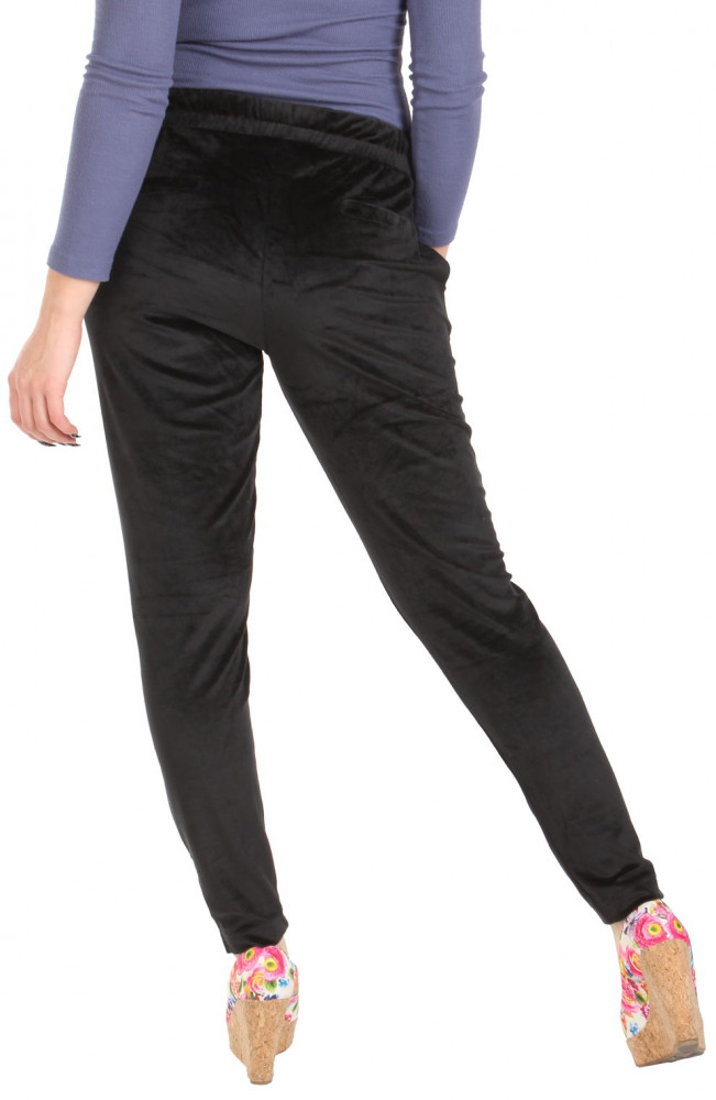 adbff90839f0 Dámske semišové voľnočasové nohavice Y0117 - Dámske letné nohavice ...