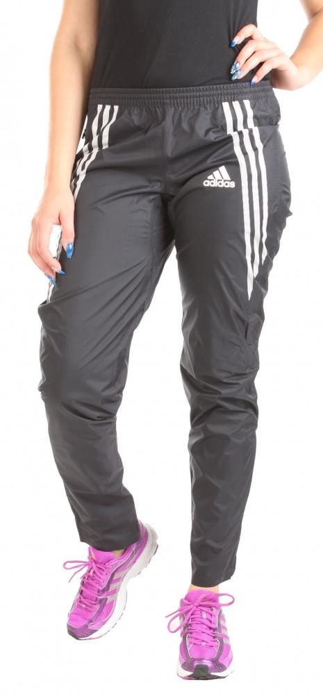 471aaf54b3f8 Dámske športové šusťákové nohavice Adidas Performance W0800 - Dámske ...