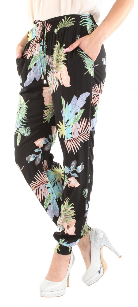 32aa1ff23976 Dámske štýlové nohavice Fresh Made X9353 - Dámske letné nohavice ...