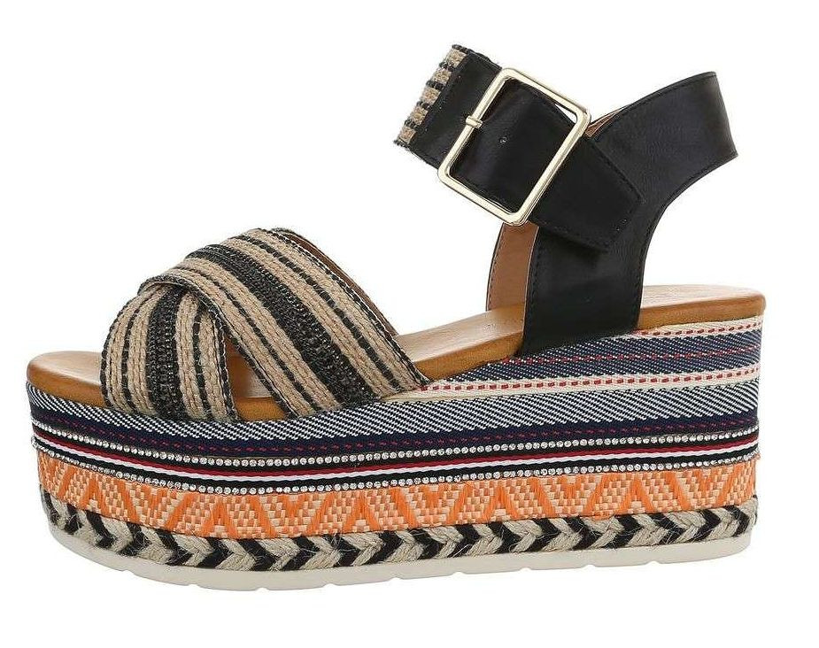 Dámske štýlové sandále Q5870