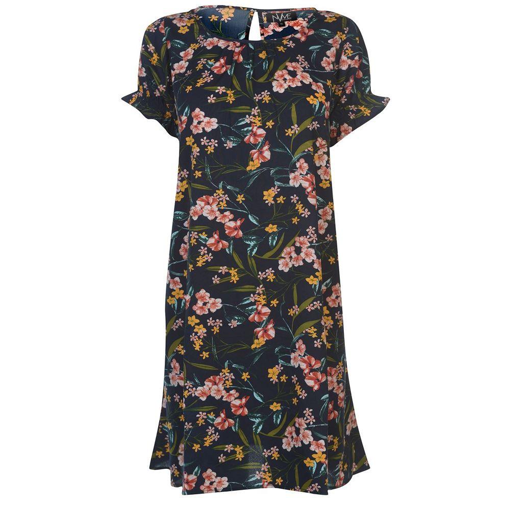 Dámske štýlové šaty NVME J4227