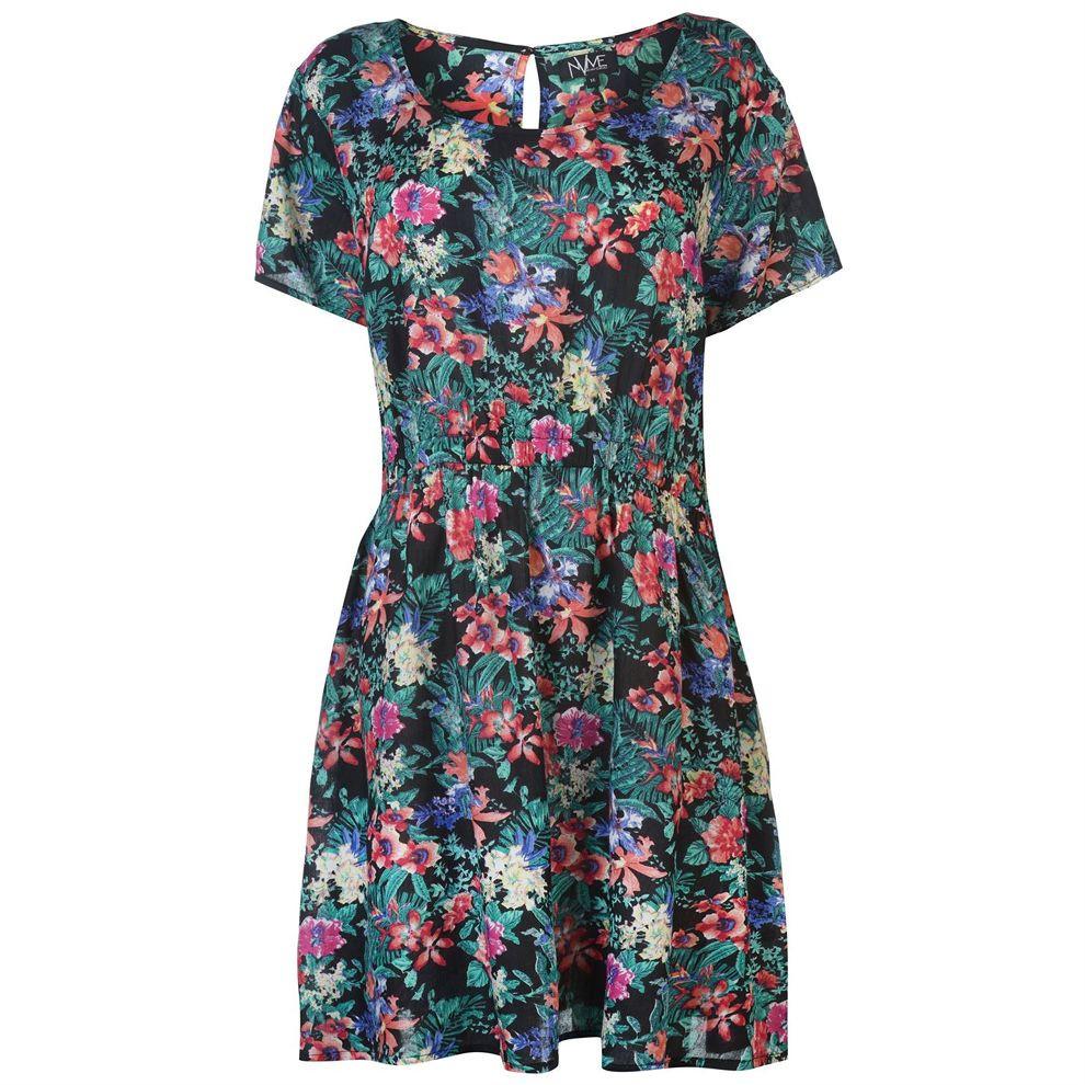 Dámske štýlové šaty NVME J4230