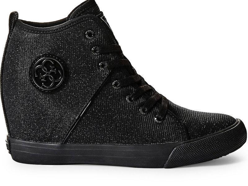 690d40c3a070 Dámske štýlové topánky Guess L2431 - Dámske vysoké tenisky - Locca.sk