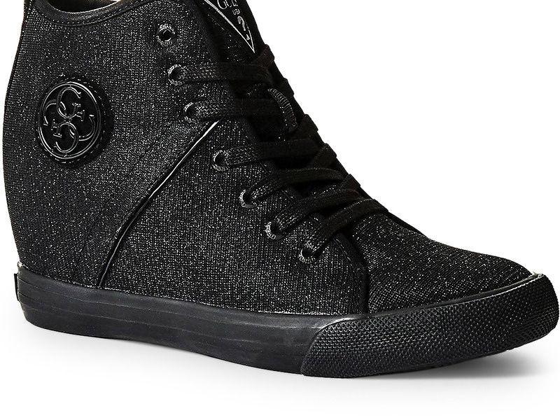 Dámske štýlové topánky Guess L2431 - Dámske vysoké tenisky - Locca.sk 1e4eb25d2f0