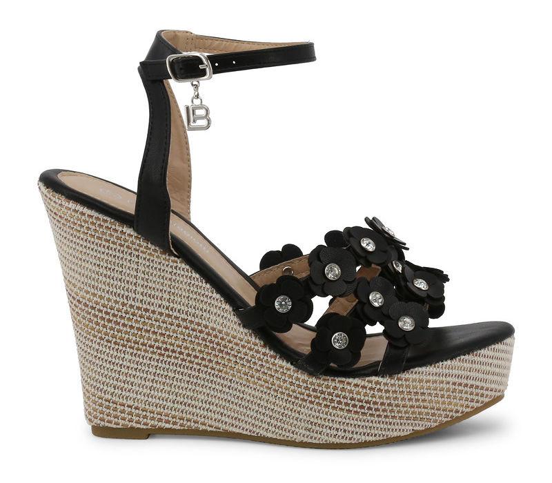 c290f87d184e Dámske štýlové topánky Laura Biagiotti L3032 - Sandále na platforme ...