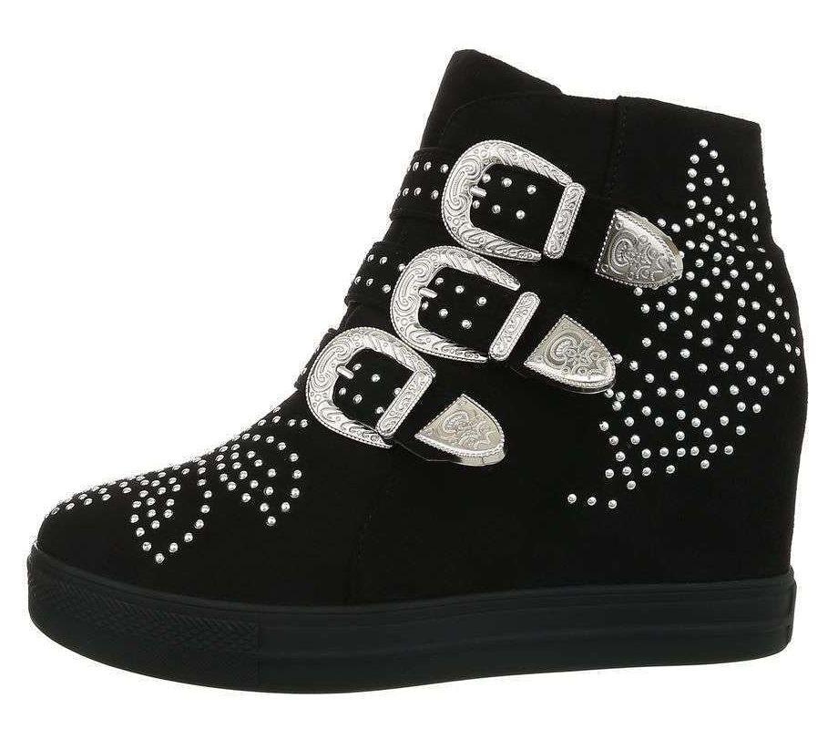 Dámske štýlové topánky Q4695