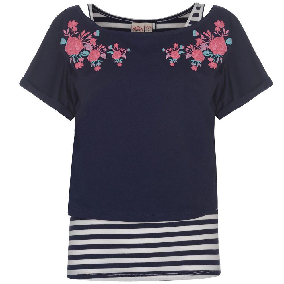 698345e54 Dámske štýlové tričko Lee Cooper H5907 - Dámske tričká - Locca.sk