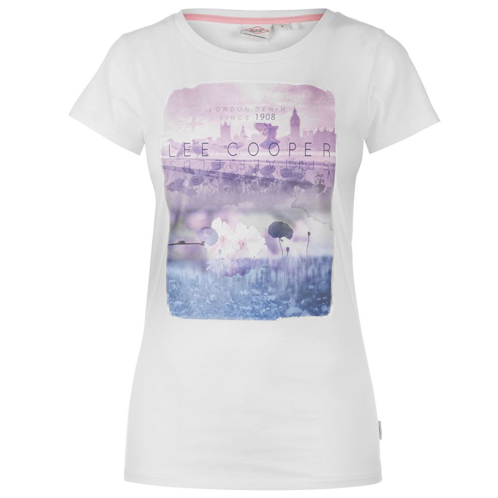3d7c0f5d1 Dámske štýlové tričko Lee Cooper H5936 - Dámske tričká - Locca.sk