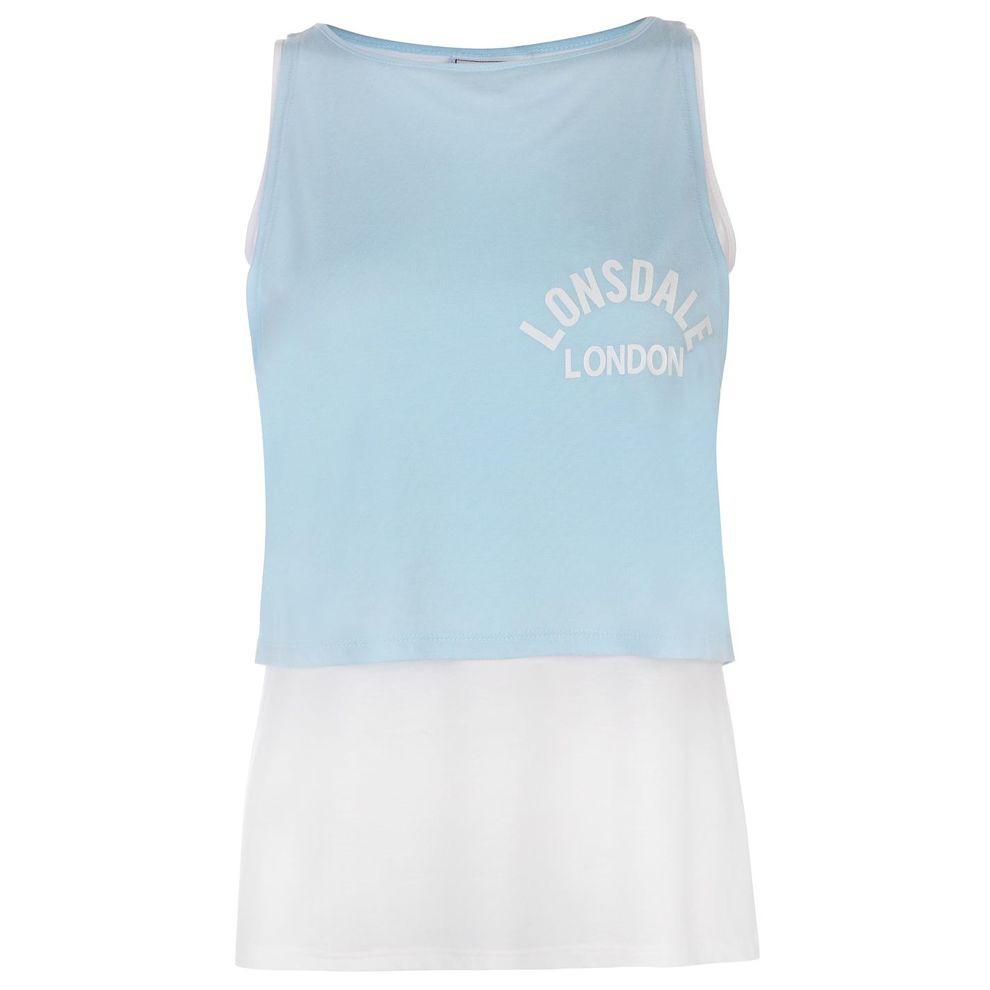 f5a1fb34d187 Dámske štýlové tričko Lonsdale H5415 - Dámske tričká - Locca.sk