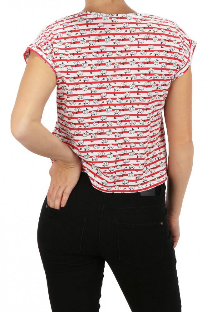 Dámske tričko Cache Cache X5511 - Dámske tričká - Locca.sk f10f1cf167b