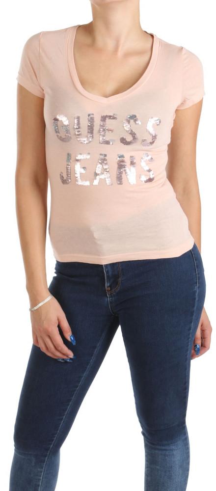 Dámske tričko Guess W0865 - Dámske tričká - Locca.sk 442ba4ed6af