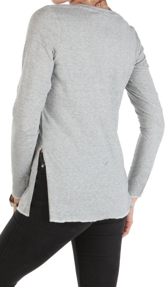 22ccaa3ba Dámske tričko s dlhým rukávom Sublevel W1540 - Dámske tričká - Locca.sk