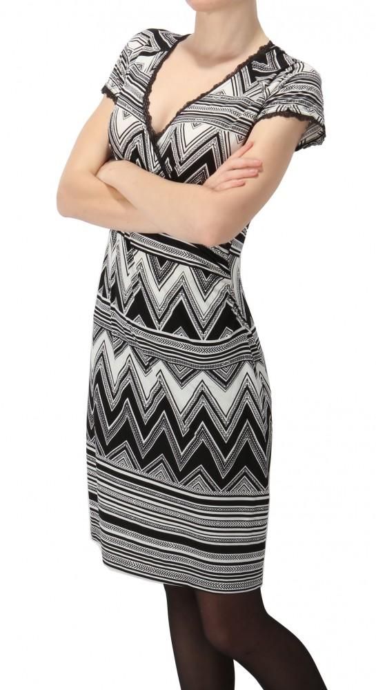 Dámske úpletové šaty Smashed Lemon X6577 - Dámske úpletové šaty ... 60778d74b17