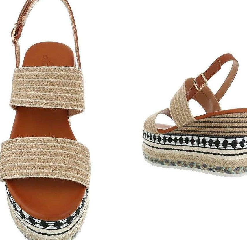 d7a4b4444fc4 Dámske vysoké sandále Q4182 - Sandále na platforme - Locca.sk