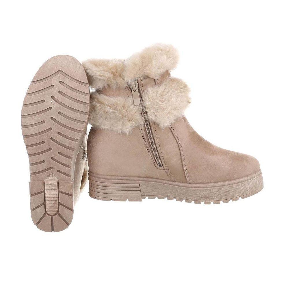 aee1753352db3 Dámske vysoké zimné topánky s kožušinou Q0153 - Čižmy trendové ...