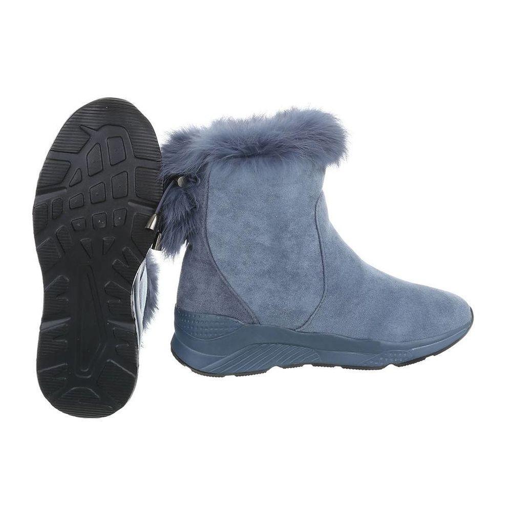 a38f23c5367b Dámske vysoké zimné topánky s kožušinou Q0161 - Dámske snehule ...