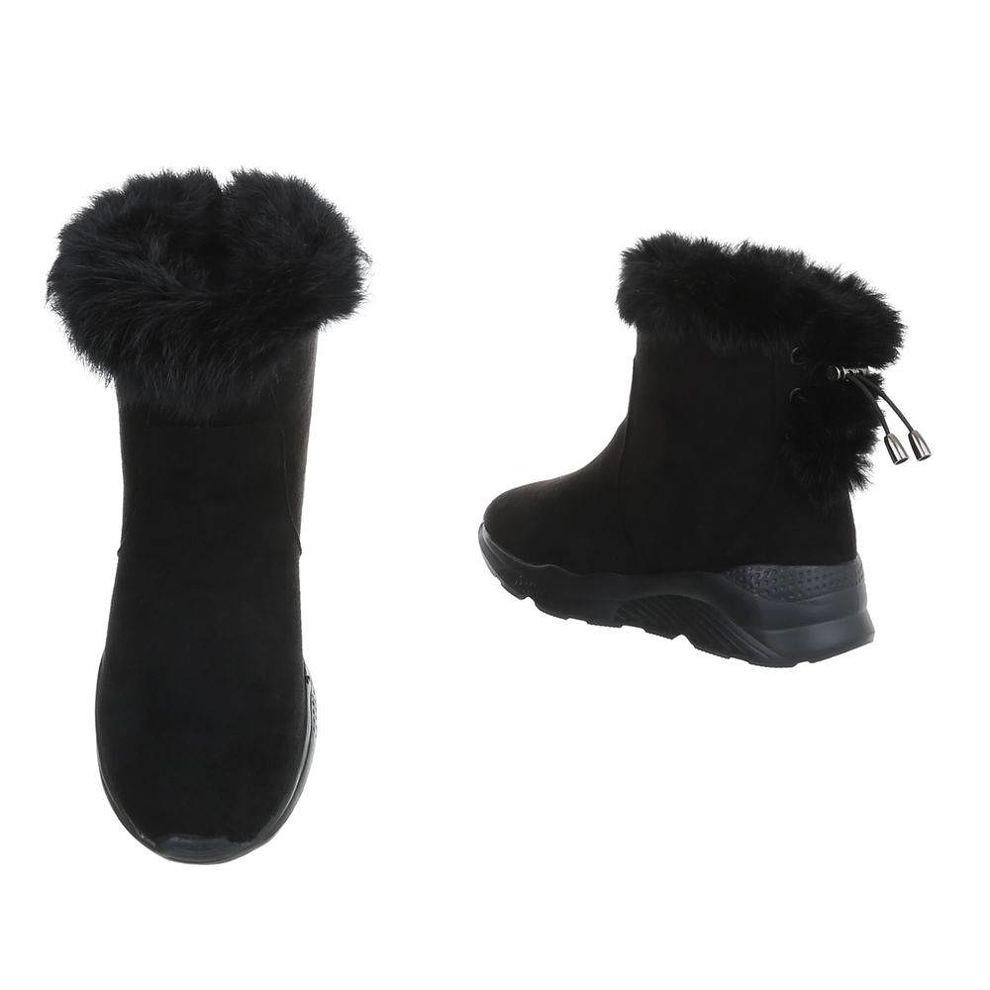 750b6ad21391 Dámske vysoké zimné topánky s kožušinou Q0164 - Dámske snehule ...