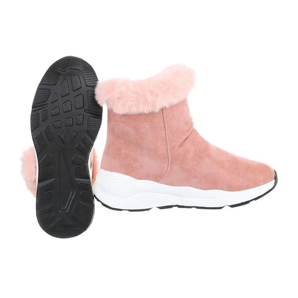34d77c114a57 Dámske vysoké zimné topánky s kožušinou Q0169 - Dámske snehule ...