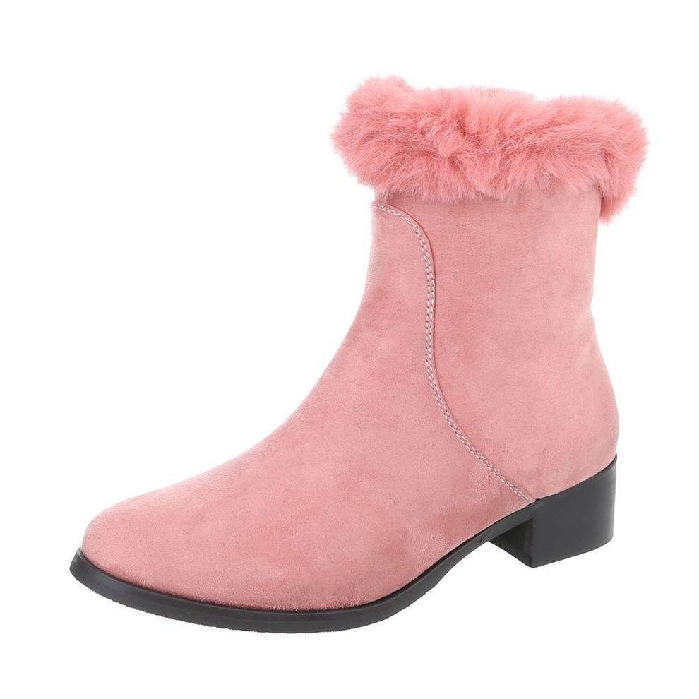 25f7358bc122 Dámske vysoké zimné topánky s kožušinou Q0239 - Dámske čižmy nad ...