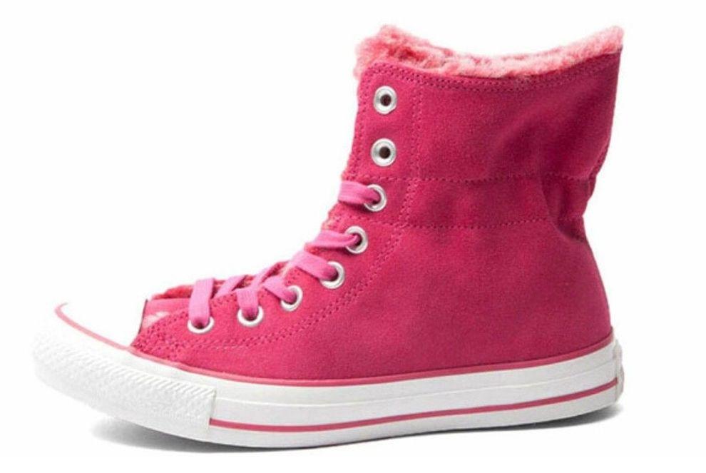 Dámske zateplené topánky Converse A0068 - Dámske členkové tenisky ... 2680cb0302a