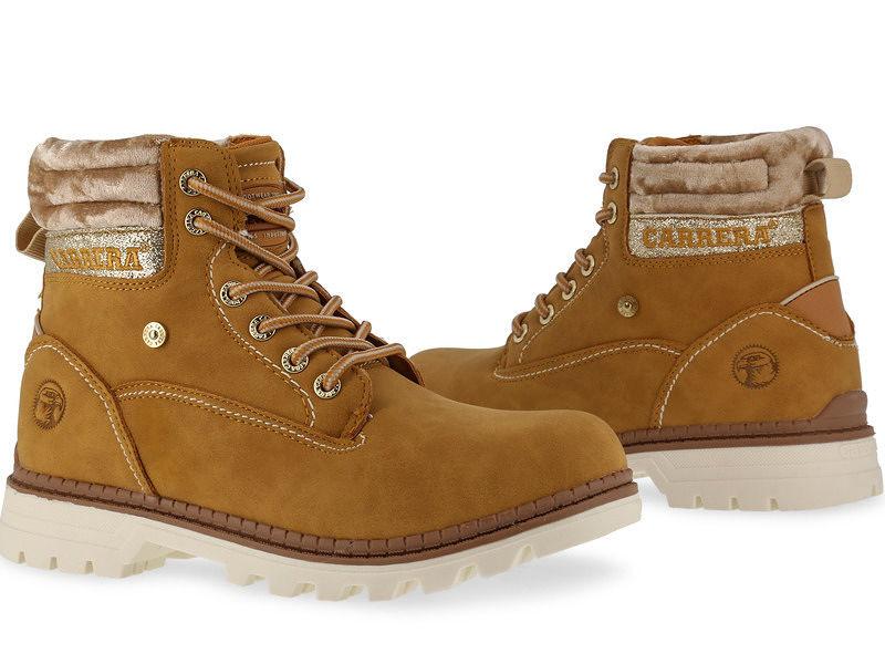 50007d96b708 Dámske zimné topánky Carrera Jeans L2277 - Dámske kožené topánky ...