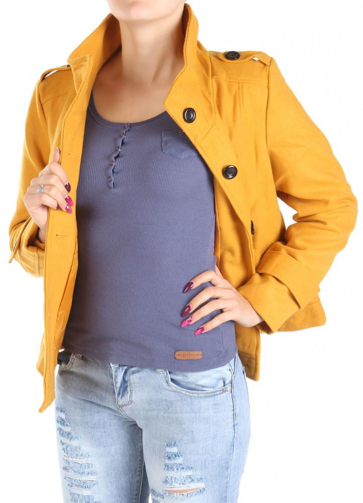 Dámsky moderný kabát Y0047 - Dámske kabáty - Locca.sk 9fdea100493