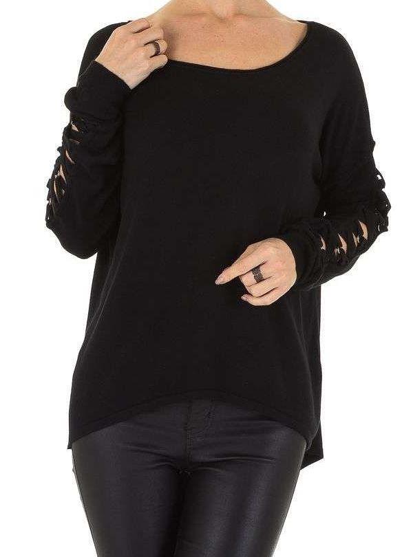 Dámsky módny pulóver Q3496